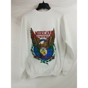 Operation Desert Crewneck White Sweatshirt XL